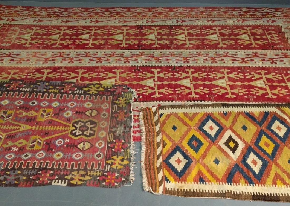 Kelim hall carpet