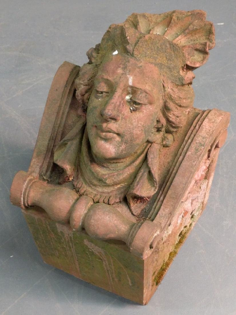 Terracotta corbel