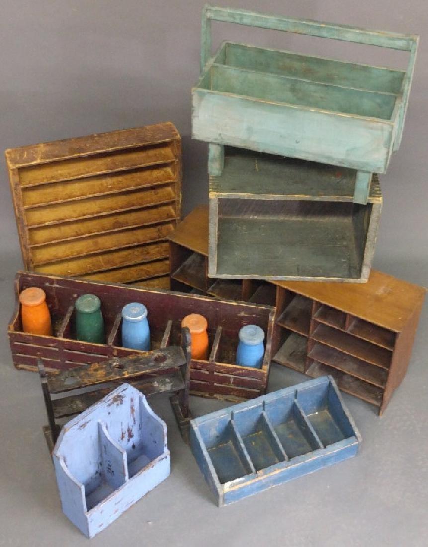 Various storage boxes