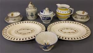 Creamware undertrays