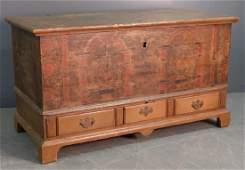 Pennsylvania German dower chest