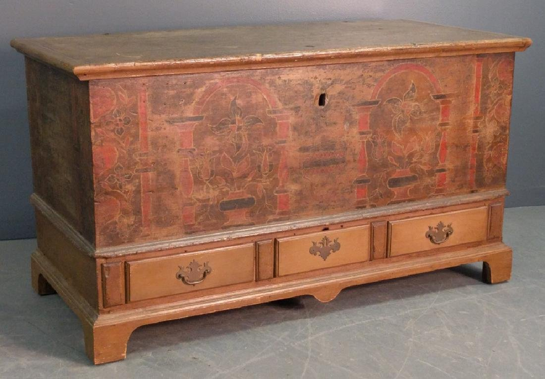 Pennsylvania German dower chest