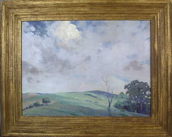 70: McCarthy, Helen K. [American 1884-1927] oil on canv