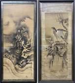 Two Japanese Scrolls