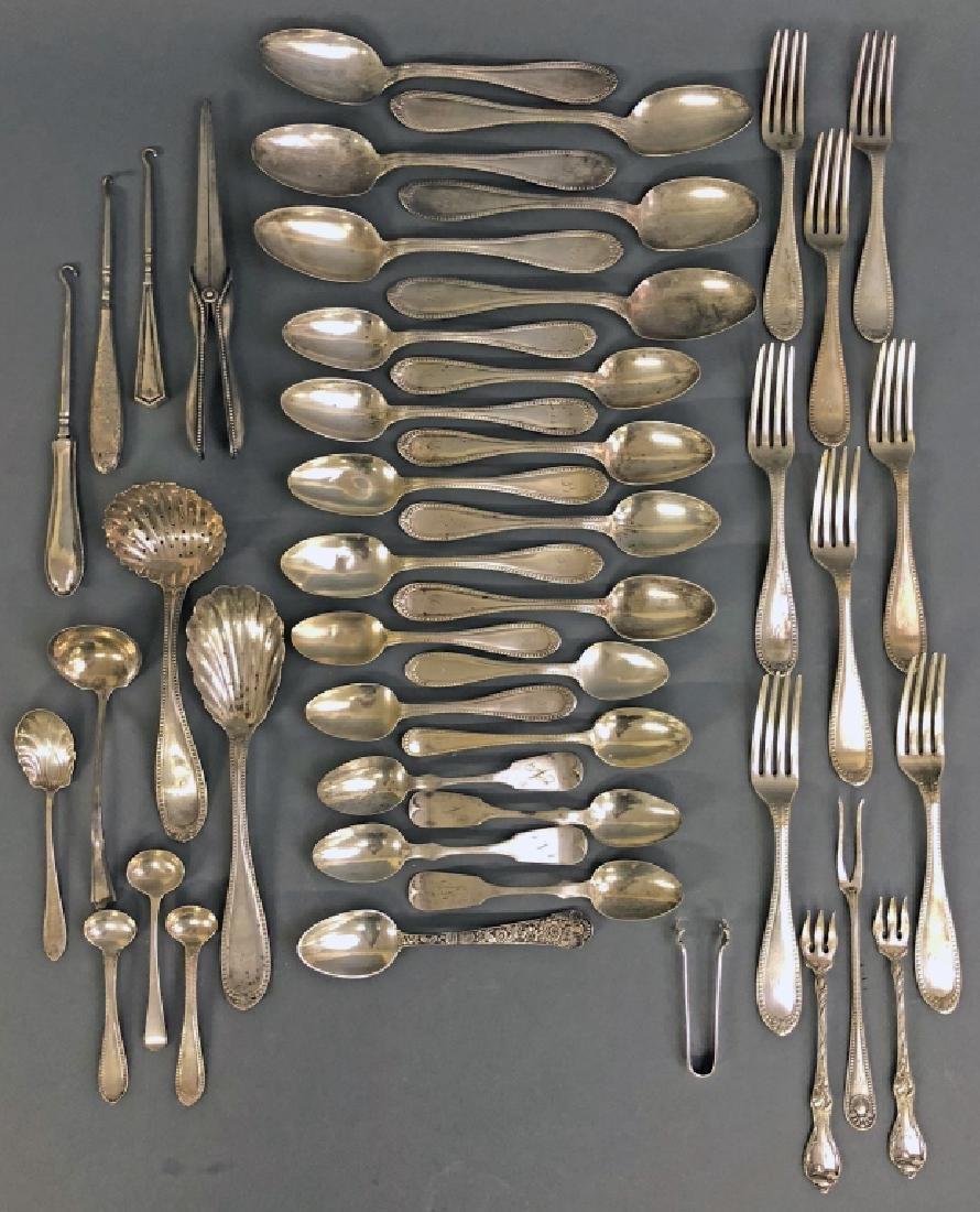 Partial Silver Service & Miscellaneous Pieces