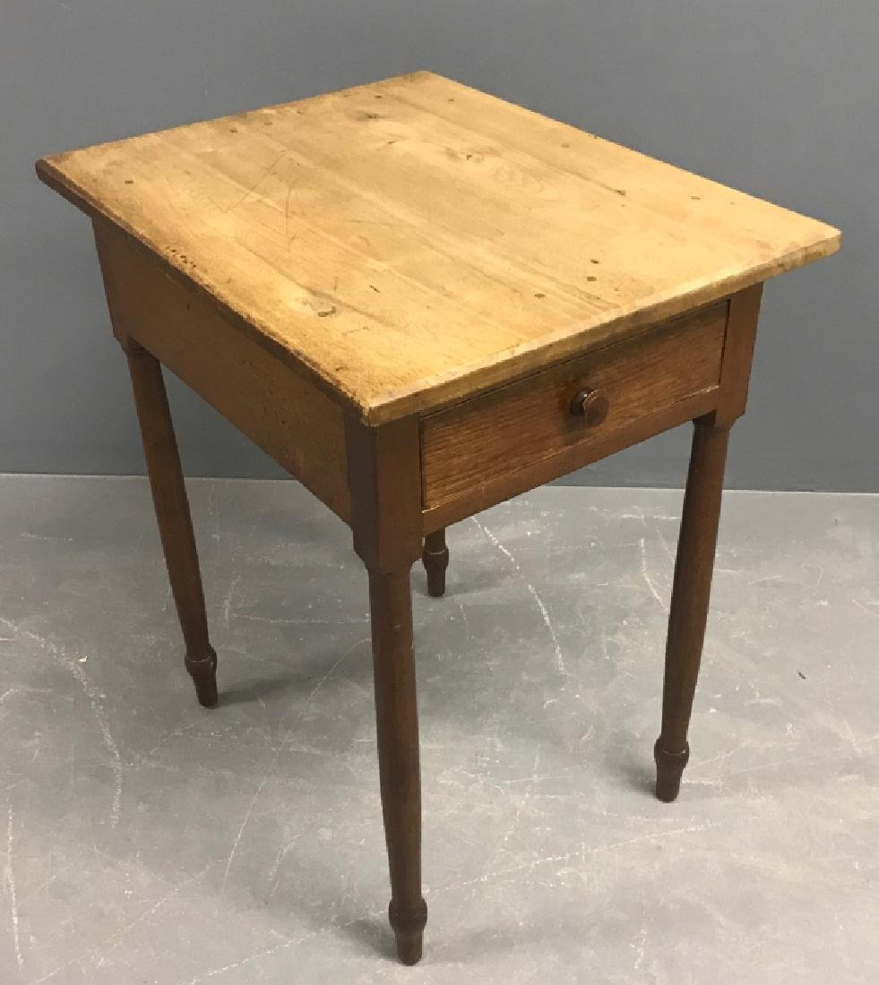 Sheraton Walnut One-Drawer Stand