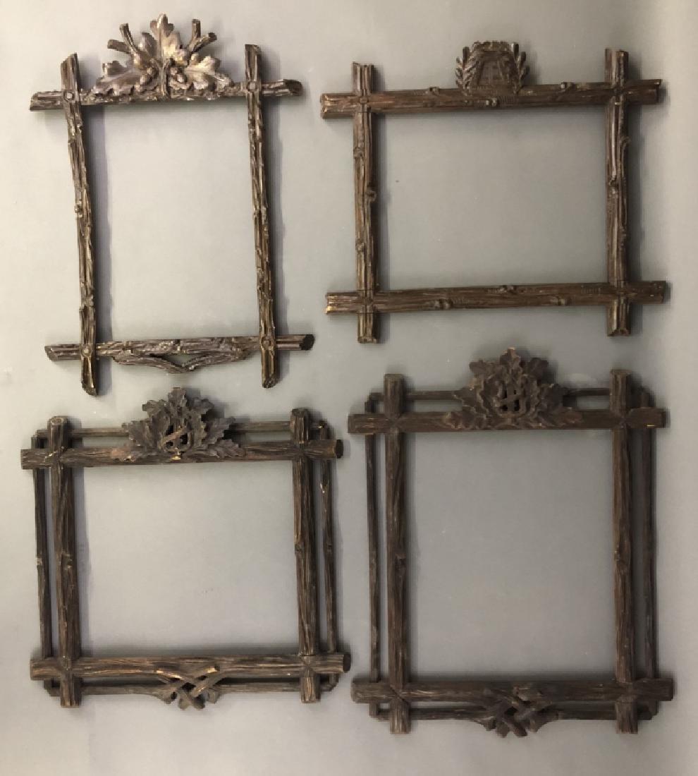 Four Black Forest Frames