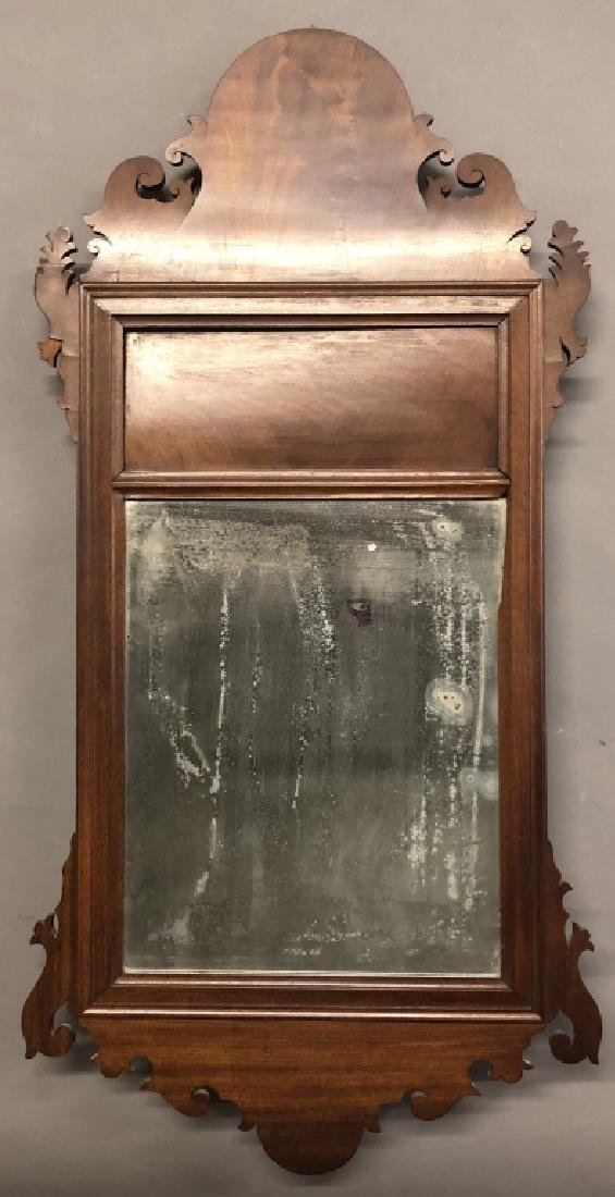 Philadelphia Chippendale Mahogany Carved Mirror