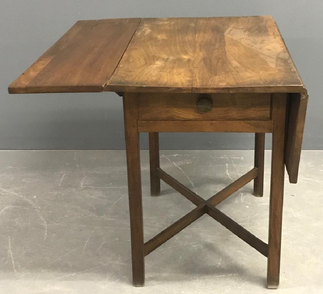 Southern Chippendale Walnut Pembroke Table