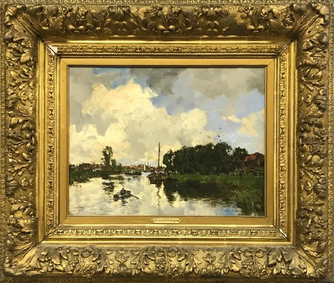 Johann Hendrik Van Mastenbroek Oil on Canvas