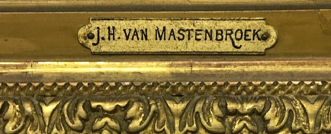 Johann Hendrik Van Mastenbroek Oil on Canvas - 4