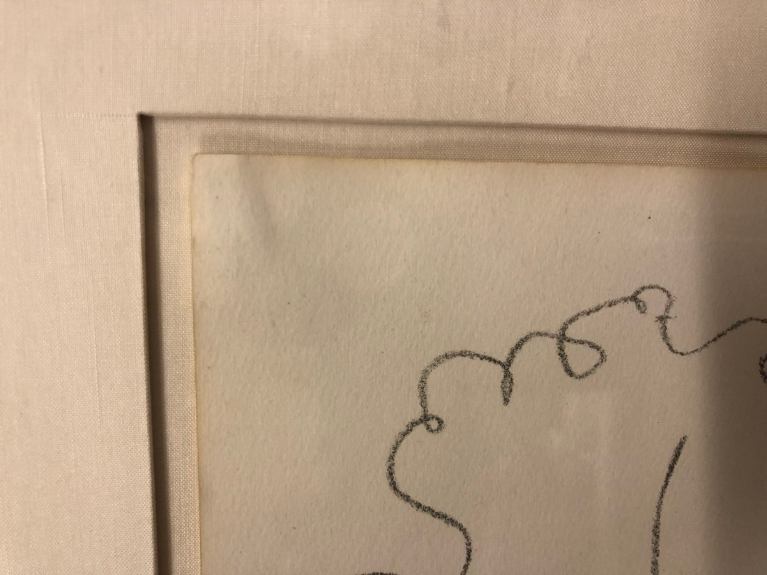 """Henri Matisse Signed Lithograph """"Head of a Woman"""" - 5"""