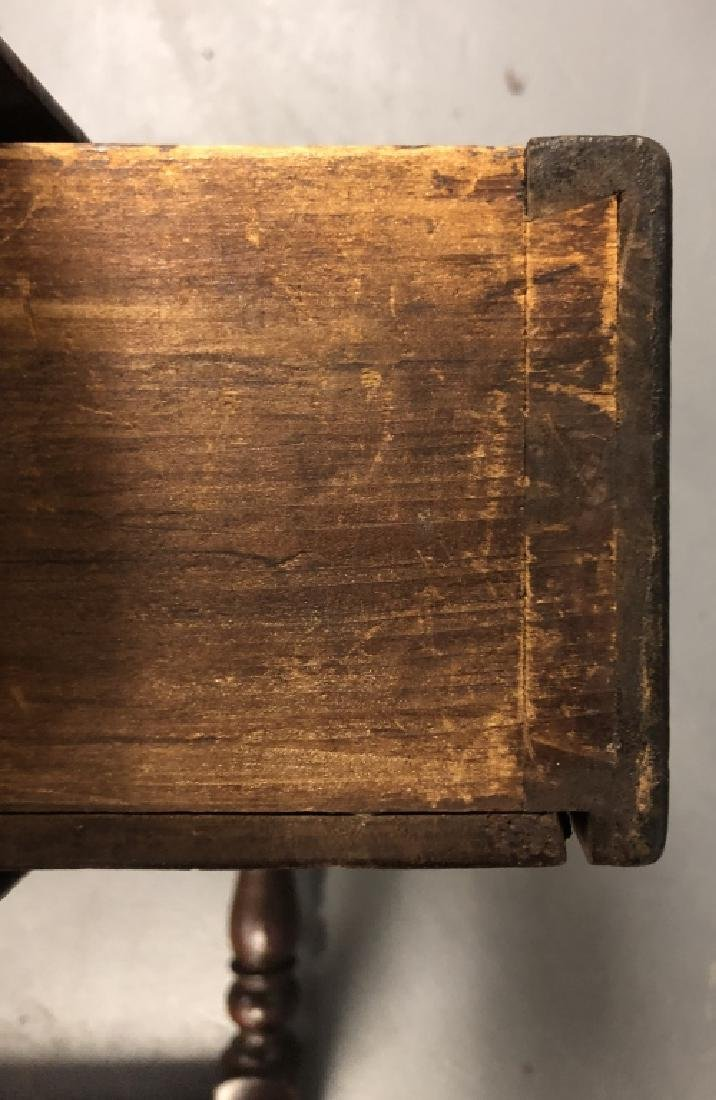 Pennsylvania Walnut Stretcher Base Tavern Table - 5
