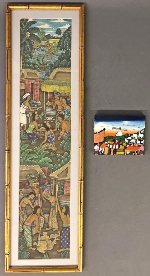 Two Latin American Paintings