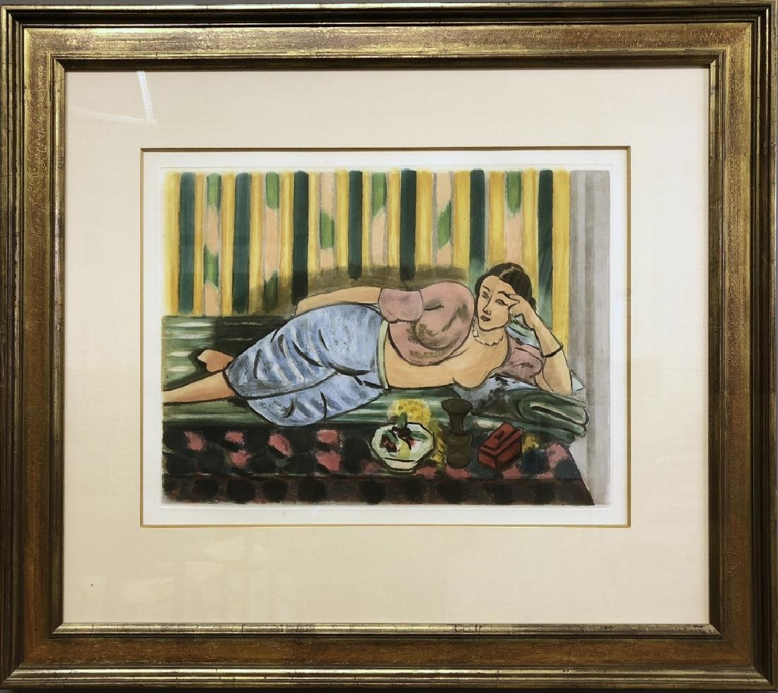 "Matisse Afterpiece of ""Odalisque au Coffret Rouge"""