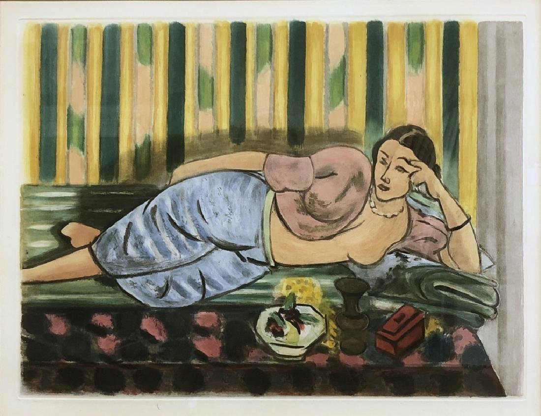 "Matisse Afterpiece of ""Odalisque au Coffret Rouge"" - 2"