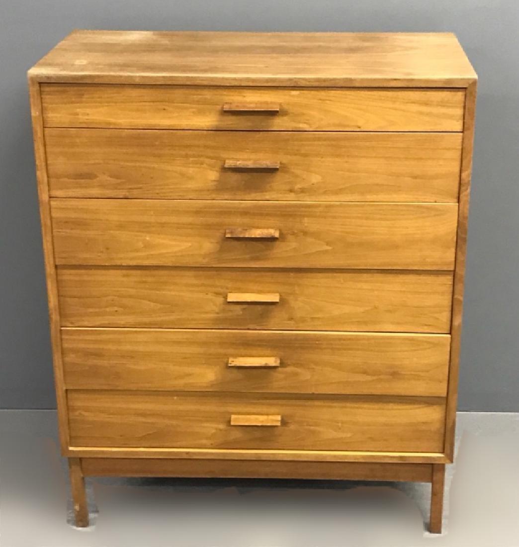 Danish Teak Wood Three-Quarter Highcase - 3