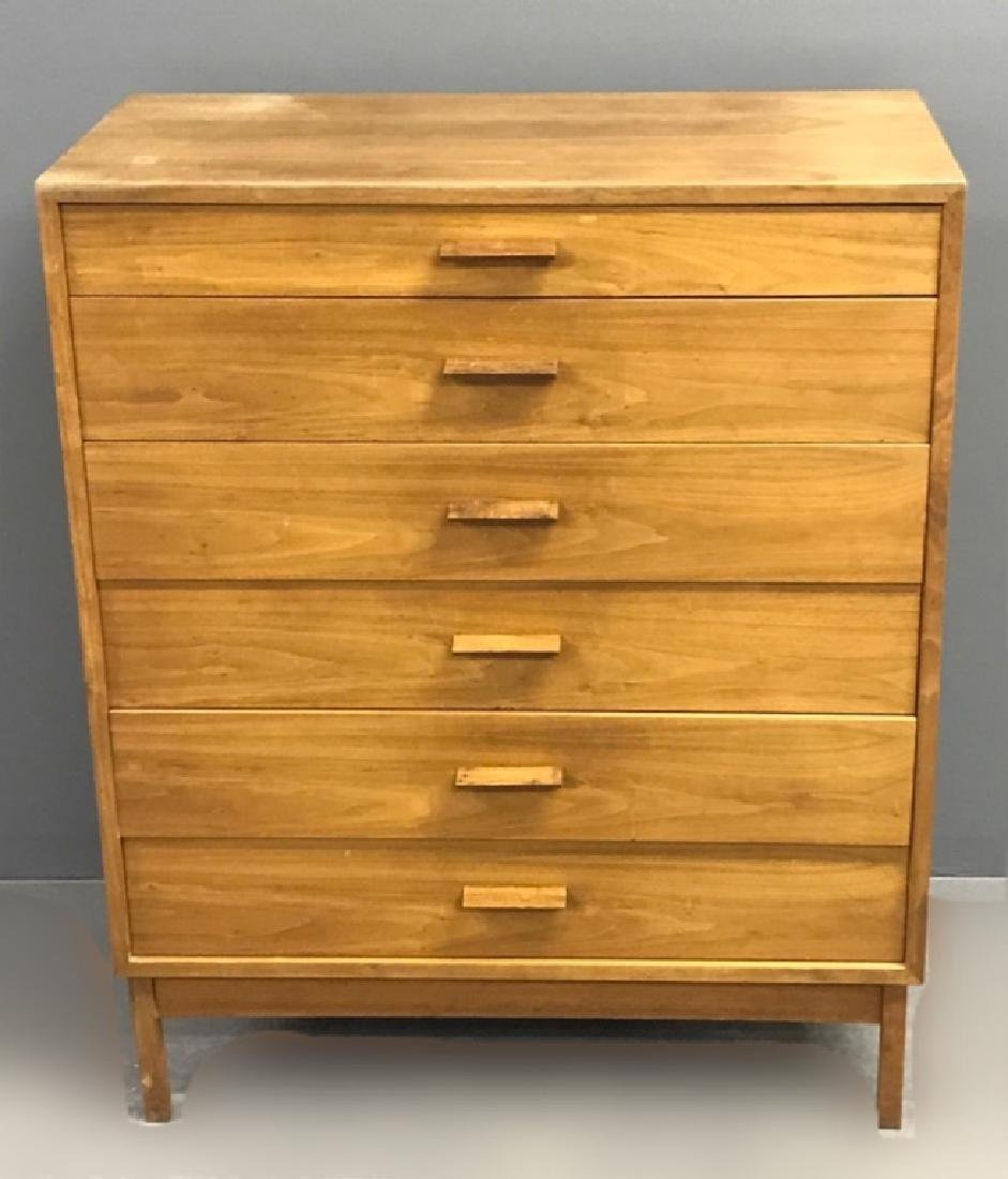 Danish Teak Wood Three-Quarter Highcase - 4