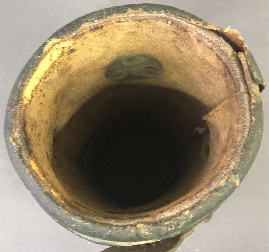 Green Leather Shot Bucket - 5