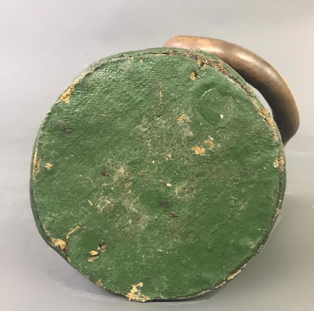 Green Leather Shot Bucket - 6