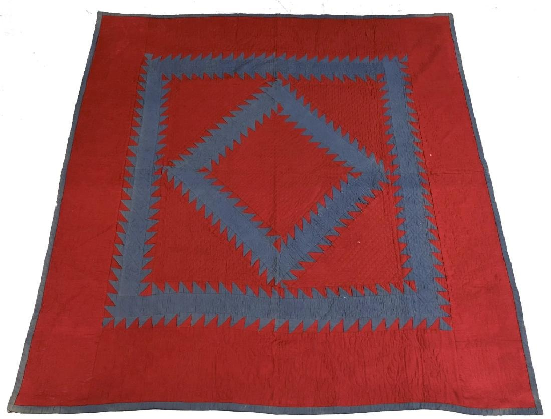 Amish Quilt Made by David Lapp