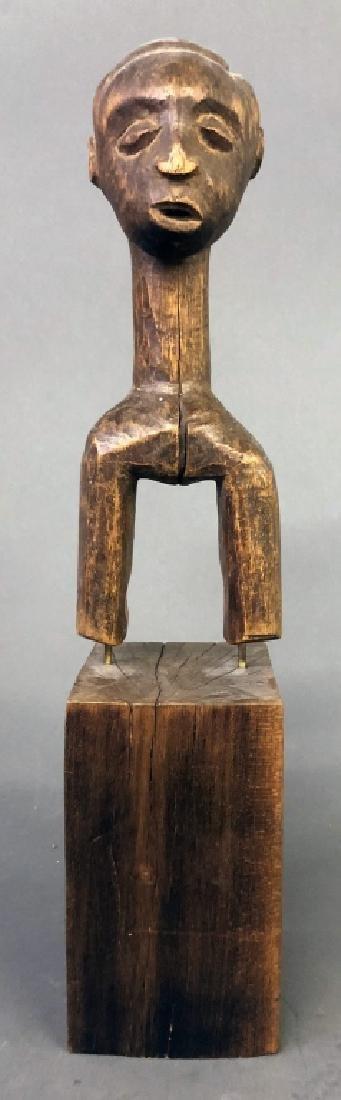 Baule Heddle Pulley Bust Figure