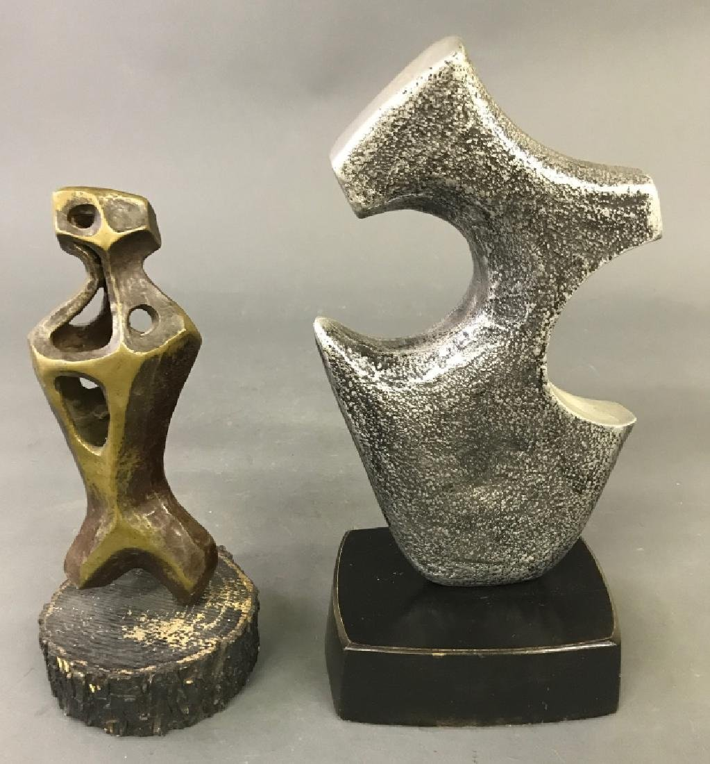 Two Sculptures by Richard Mykle