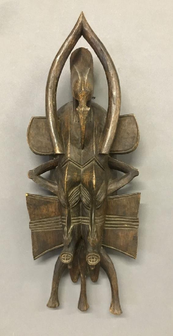 Senufo Tribe Twin Mask
