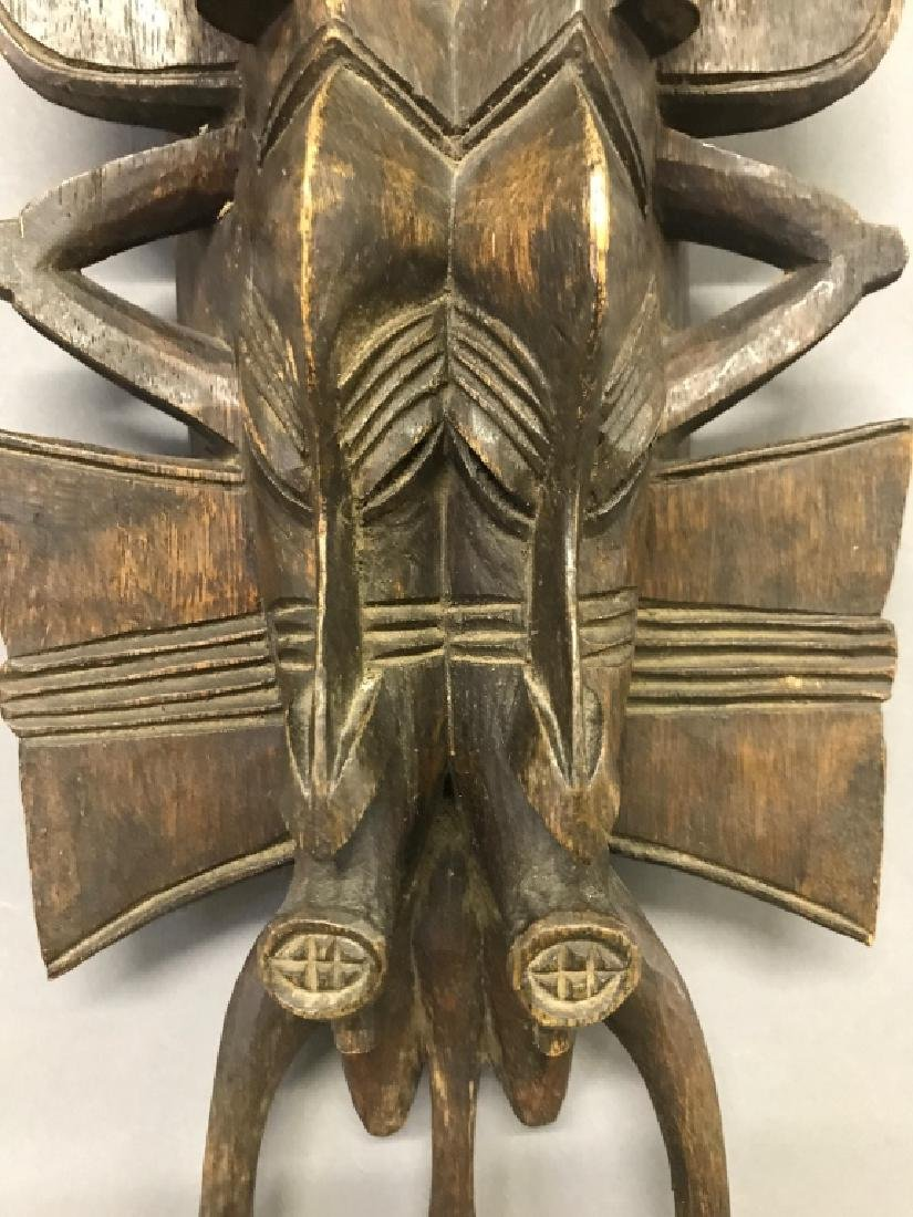 Senufo Tribe Twin Mask - 2