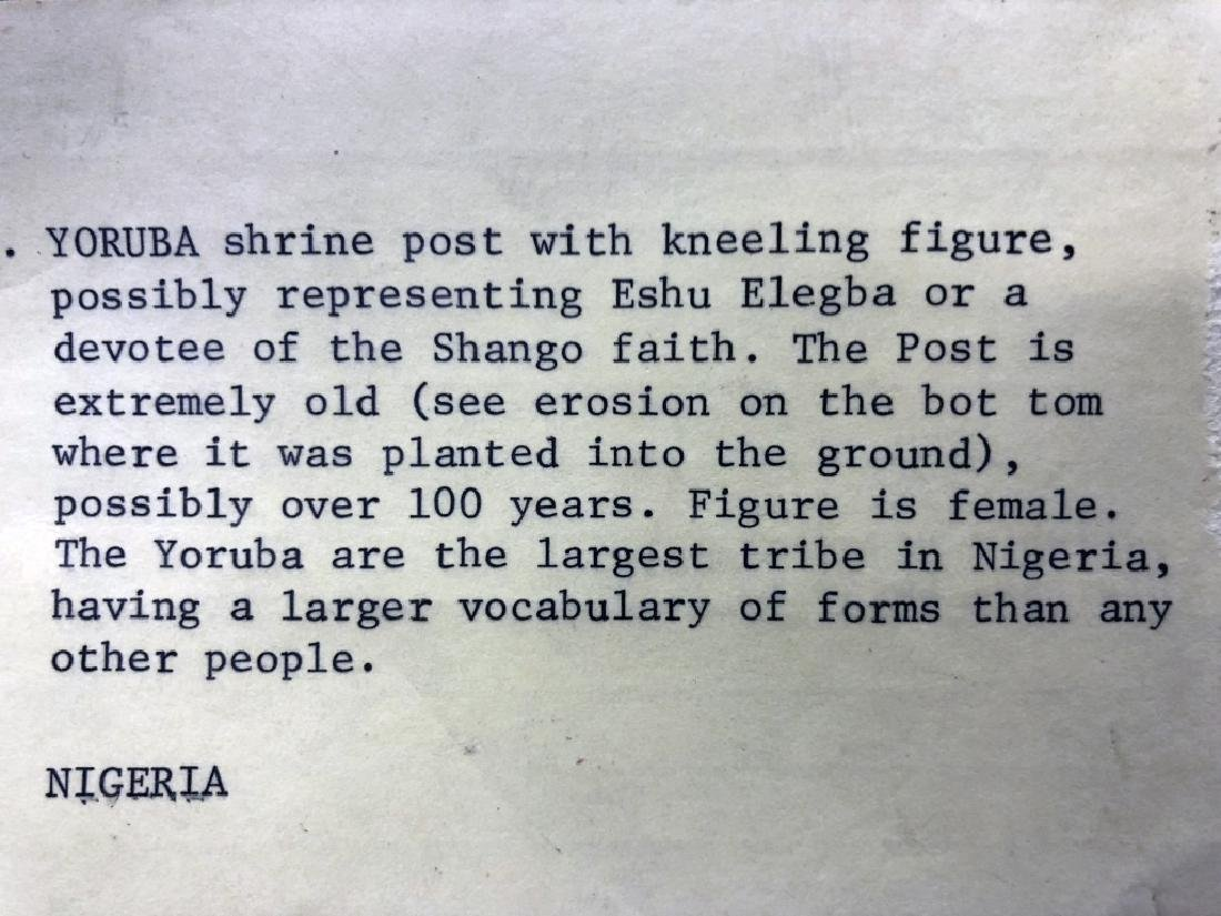 Yoruba Tribe Shrine Post - 5