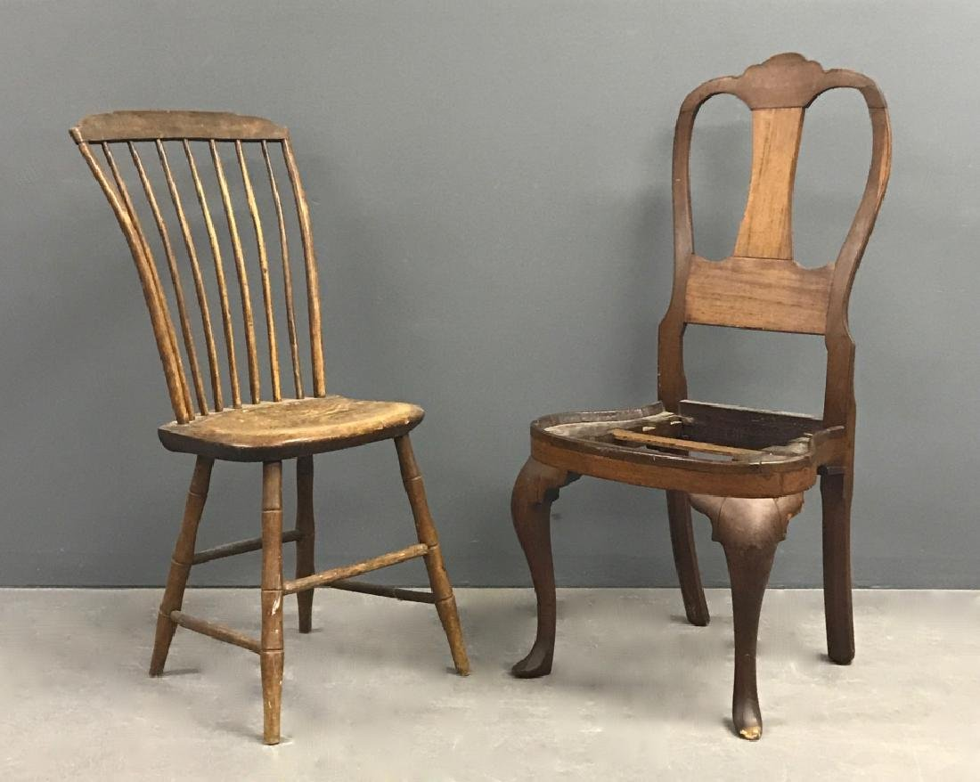 Philadelphia Queen Anne Walnut Side Chair
