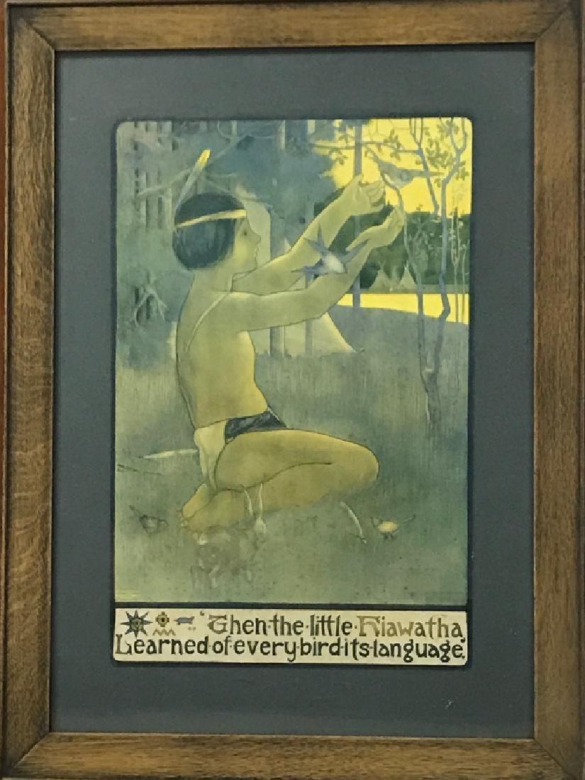 Elizabeth Morris Print of Hiawatha