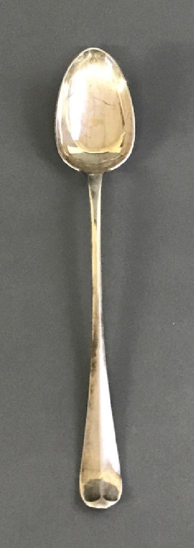 Silver Hallmarked Stuffing Spoon - 2