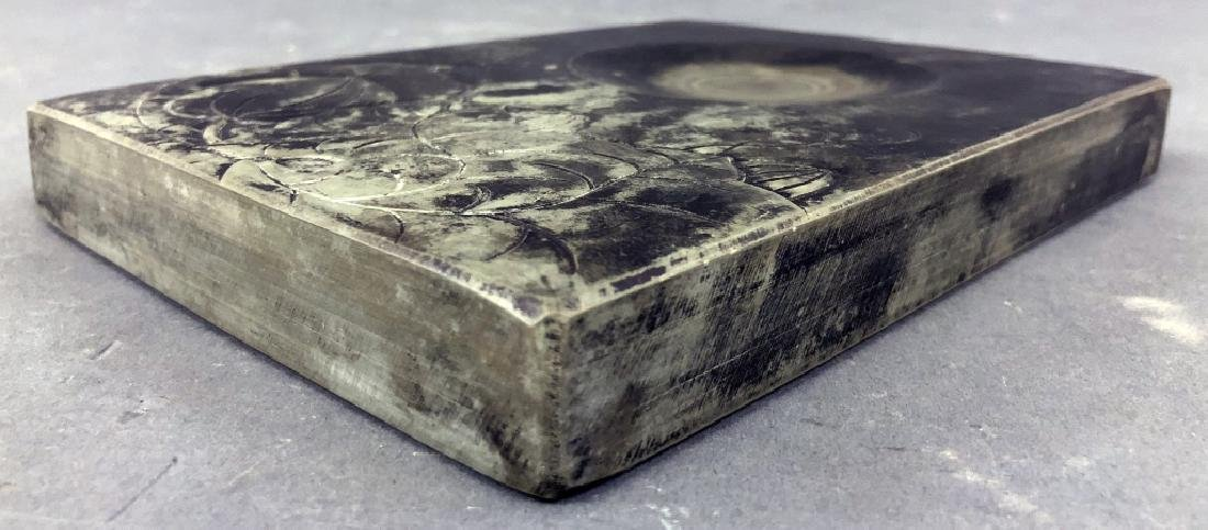 Chinese Ink Stone in a Wood Case - 7