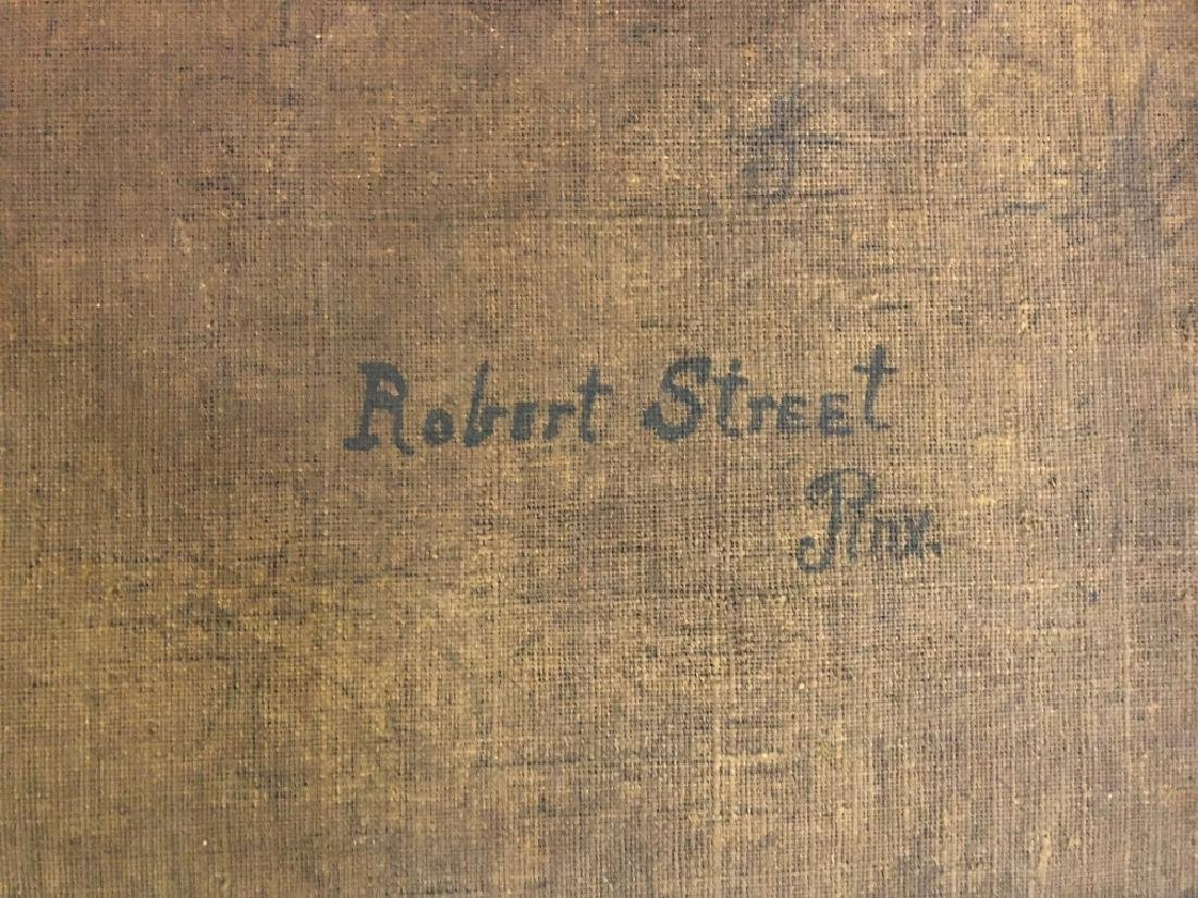 Robert Street Oil on Canvas Still Life of a Robin - 5