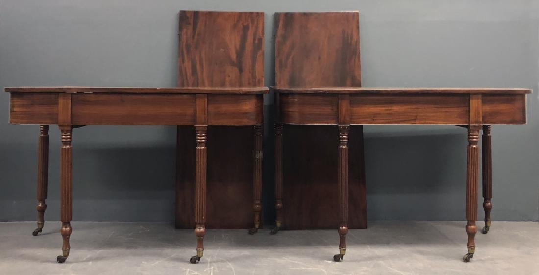 Pair of Sheraton Mahogany Console Tables