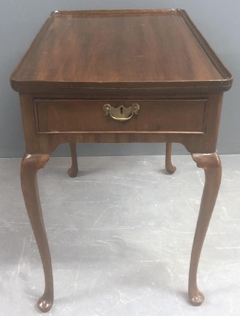 English Queen Anne Mahogany Tea Table
