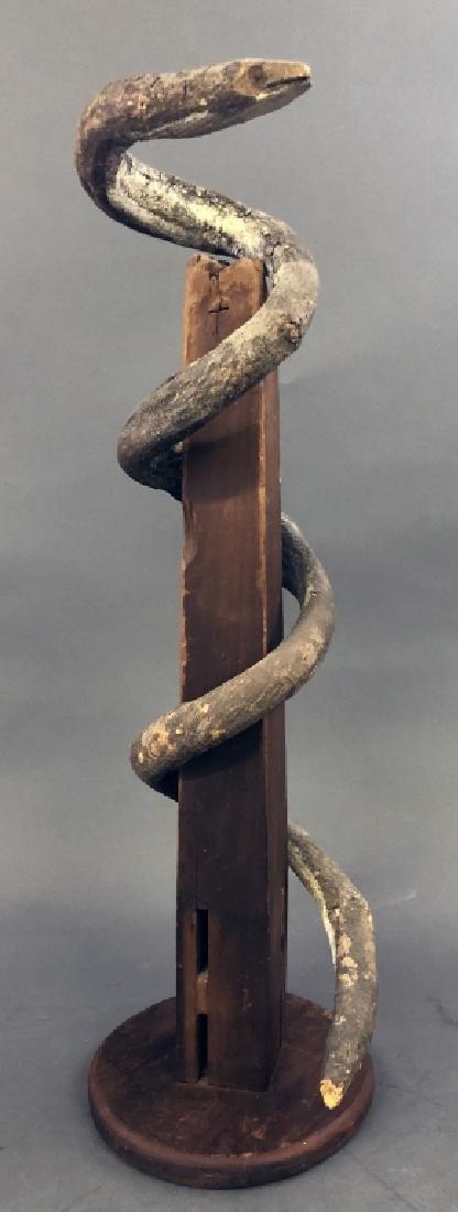 Folk Art Vine Snake