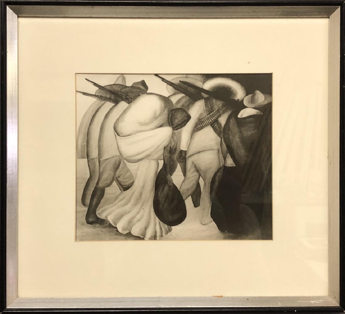 """Jose Clemente Orozeo Print """"Las Soldaderas"""""""