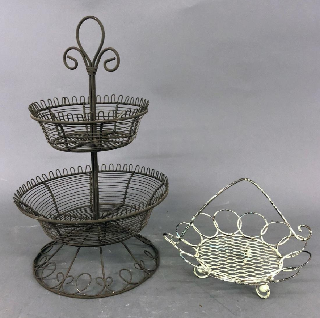 Wire Fruit and Vegetable Baskets