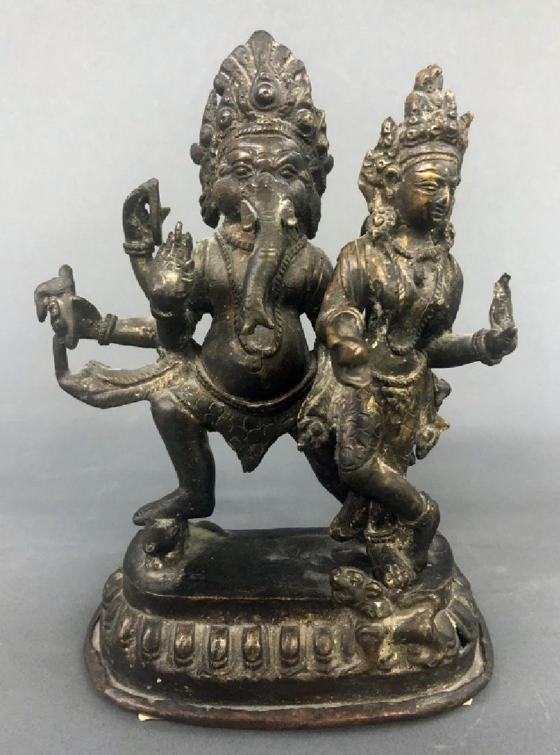 Eleven Indian Bronze Figures - 2