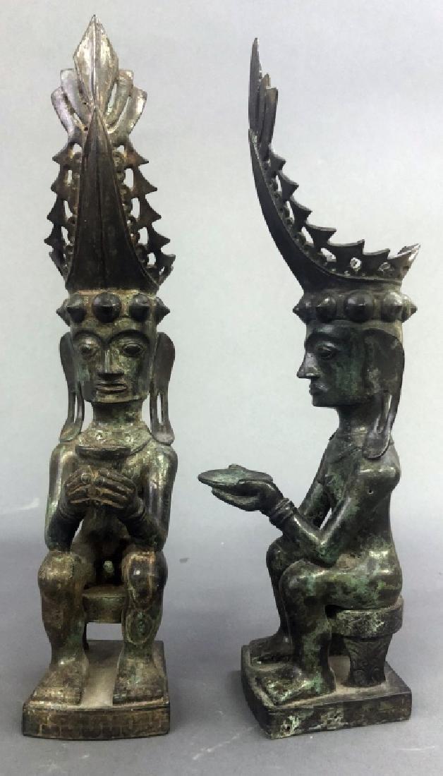 Eleven Indian Bronze Figures - 4