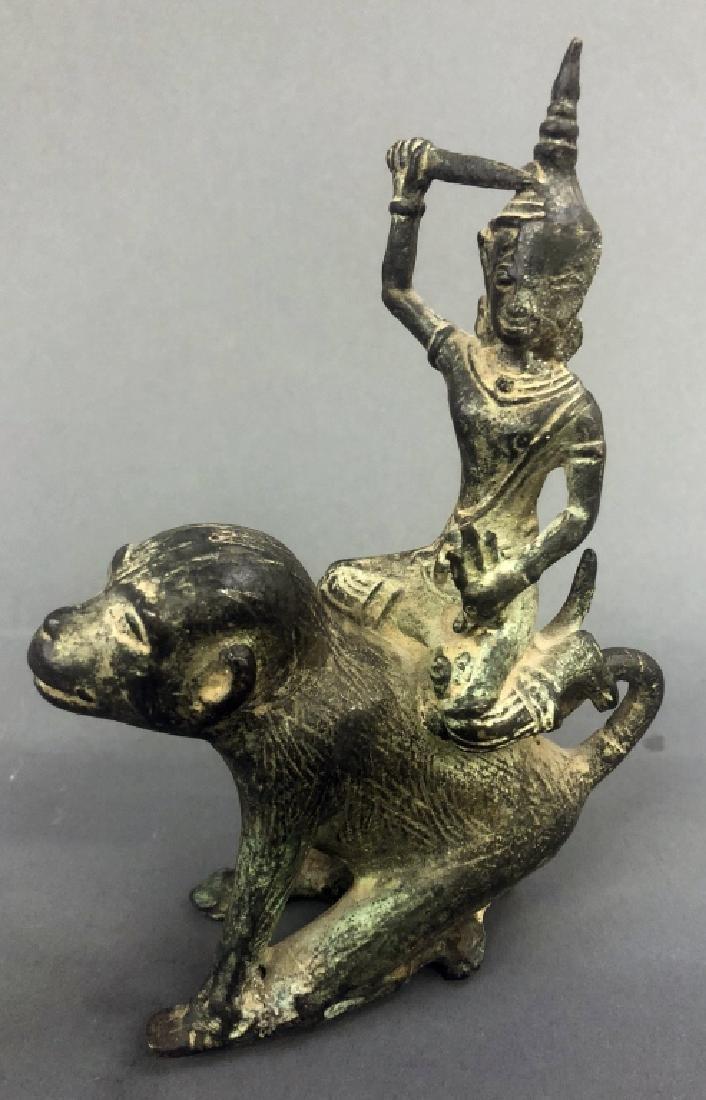 Eleven Indian Bronze Figures - 5