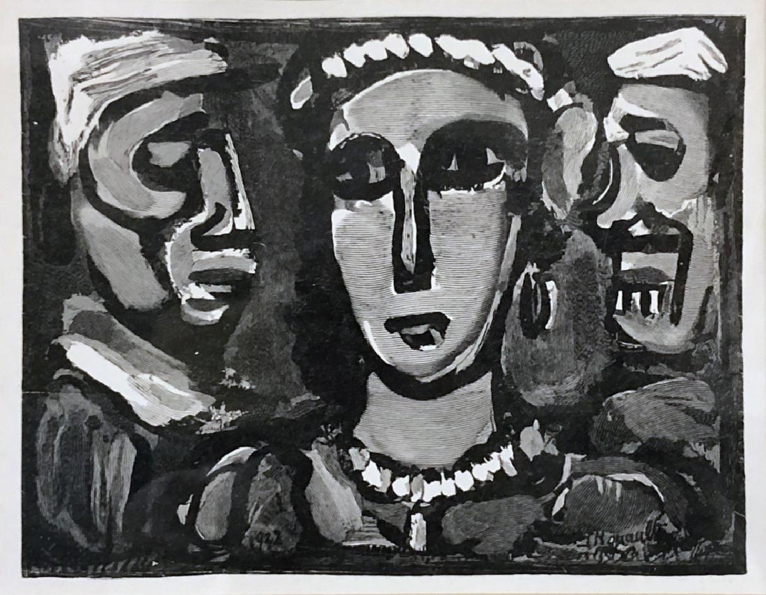 """George Rouault Print """"Les Visages"""" - 2"""