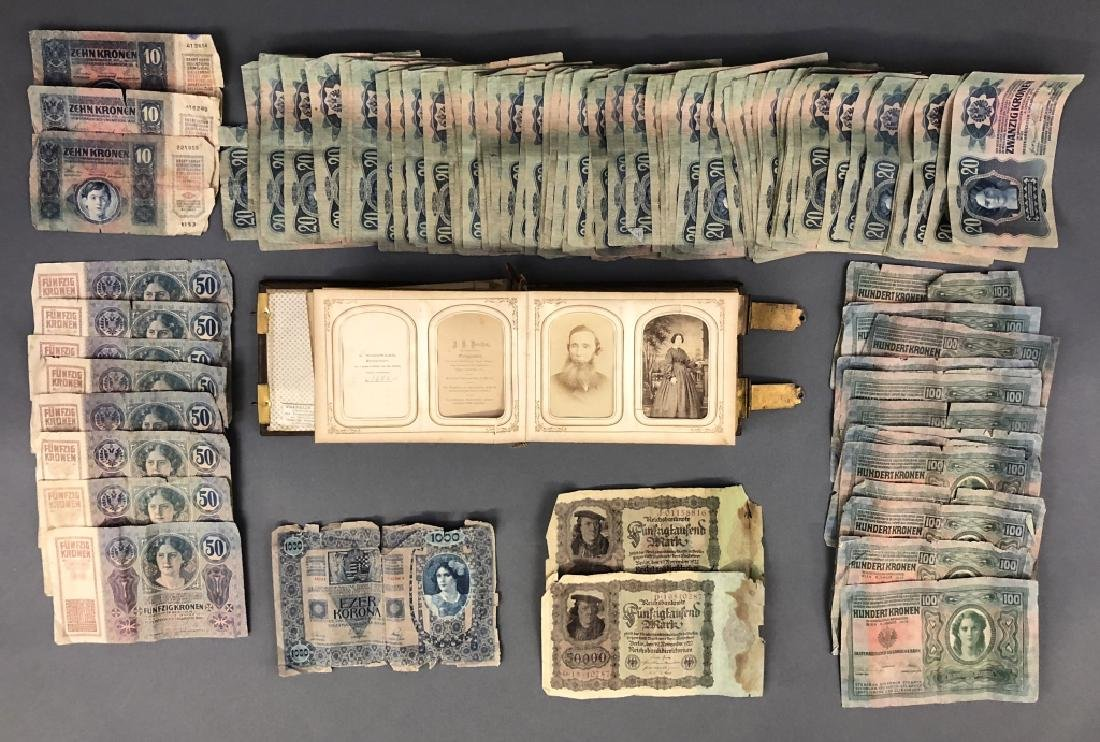 Photographs and Rare Banknotes