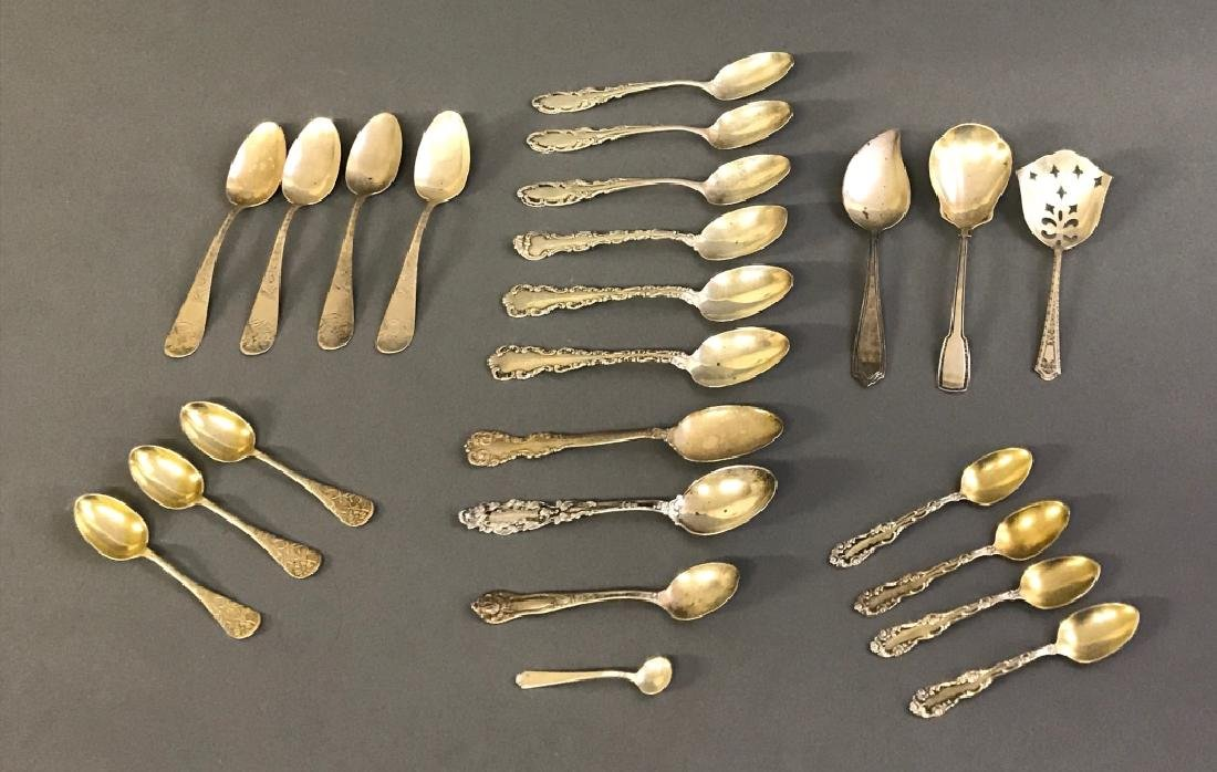 Grouping of Silver Spoons