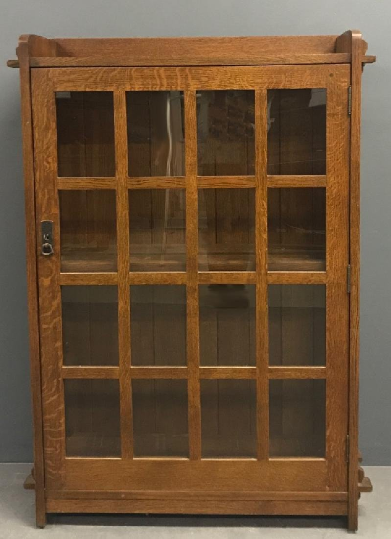Stickley Mission Style Oak Bookcase