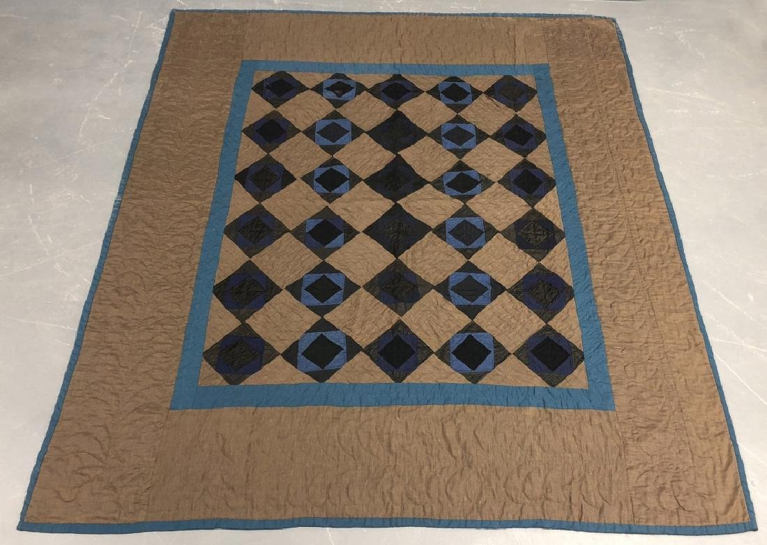 Amish Pieced Quilt