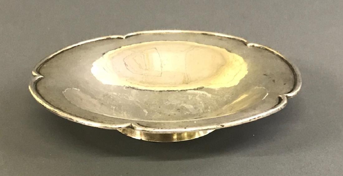 Kalo Sterling Silver Shallow Bowl