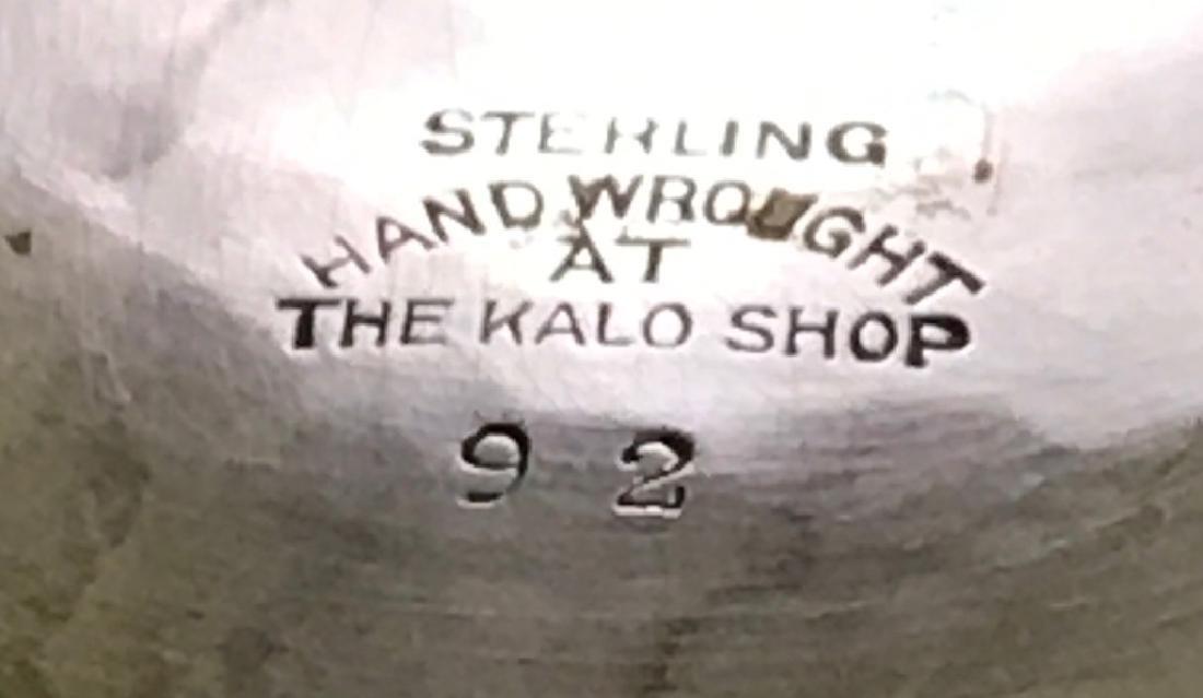 Kalo Sterling Silver Shallow Bowl - 5